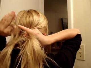 10 простых повседневных причесок для длинных и средних волос.