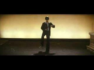 Sam Rockwell (as Chuck Barris) dancing