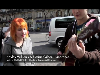 Hayley Williams  Florian Gilbon - Ignorance