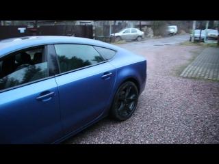 Full paint Audi A7 in plasti dip (покраска ауди а7 в пласти дип, жидкая резина)