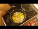 Яичница с ветчиной и сыром. Тосты в бутерброднице. Рецепты от uran83. Кушать Подано 9