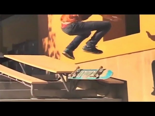INSTABLAST! - Nollie Bs Noseblunt Pop Out!! Double Backfoot Bs Crailslide! Gnarly Pole Jam to Air!!