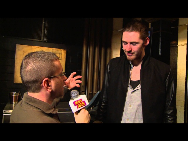 Hozier with Damnit Maurie Backstage at Massey Hall | KiSS 92.5