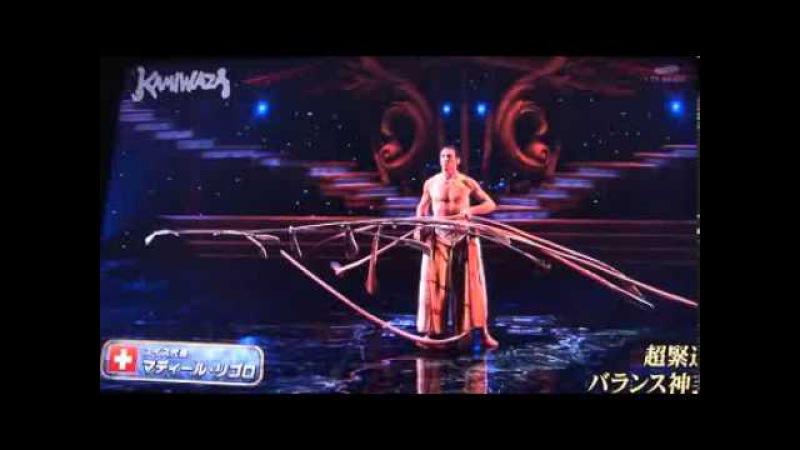 Участник японского шоу талантов Kamiwaza показал невозможное