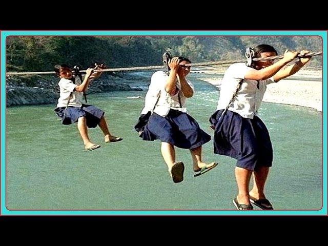 10 Самых Опасных в Мире Дорог к Школе