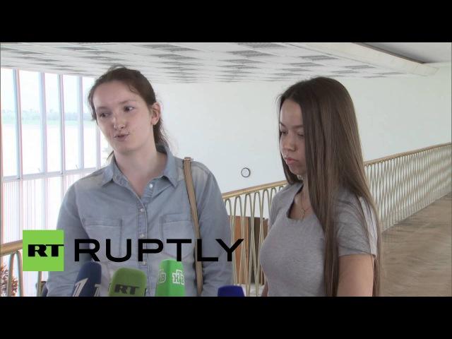 Россия Жены Русских выпущенных в Савченко заключенных своп говорил