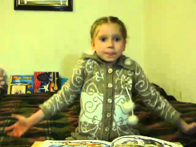 На конкурс Дети читают стихи для Лабиринт.ру. Таня Андреева, 5 лет, г. Москва