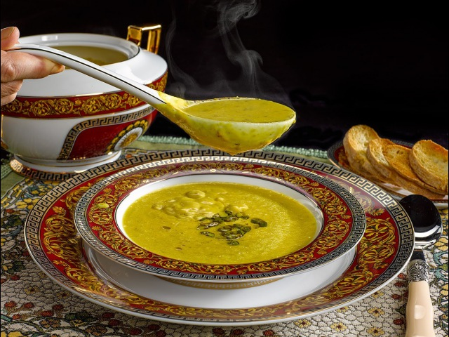машхурда без мяса или суп из фисташек