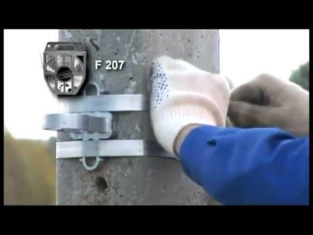 Натяжение ленты F207 с помощью CVF