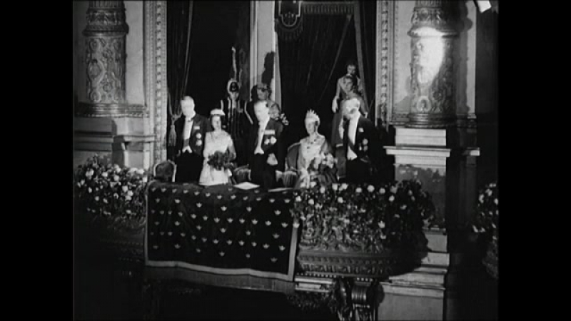 Визит английской королевы Елизаветы Второй в Швецию