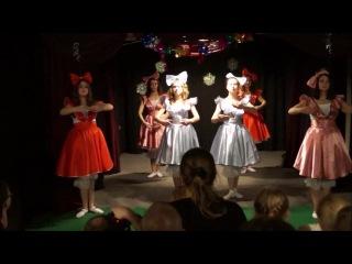 отрывок из рождественского праздника 2015 Танец кукол Старшая группа Театральная студия Конфетти