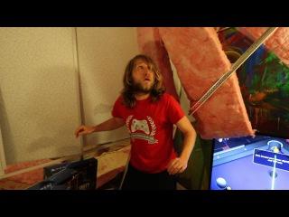 Psycho Dad Demolishes Gaming Room