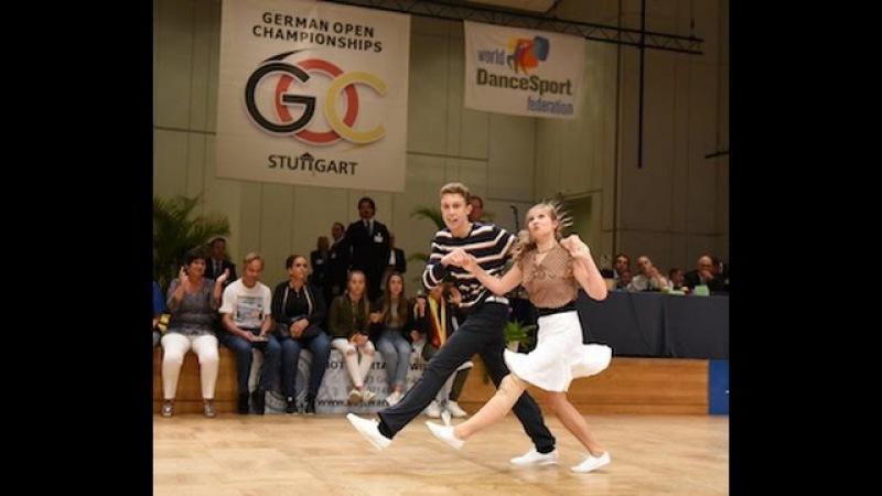 Europameisterschaft Boogie Woogie Stuttgart 2016, Halbfinale, Elian und Theresa