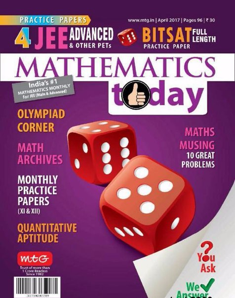 Mathematics Today April 2017