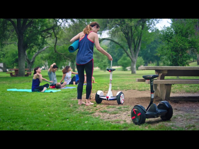 A Ride to the Park Ninebot by Segway miniPRO