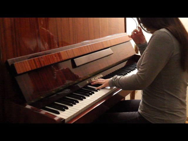 One Republic- Apologize (piano cover/Anny Harisson)