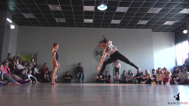 CONTEMPORARY DANCE DUEL 1 4 1х1 KIDS PRO Глуган Ангелина Гусак Евдокия
