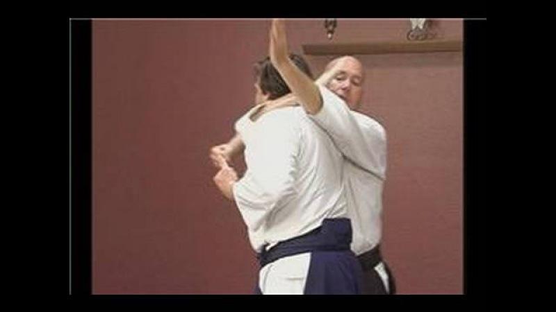 Yokomenuchi Waza Intermediate Aikido Techniques Kubishime from Yokomenuchi
