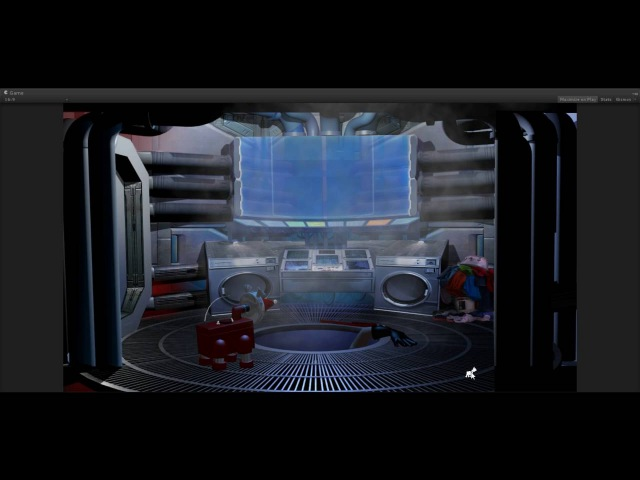 Pump House located in the Two Guys Space Dome - SpaceVenture