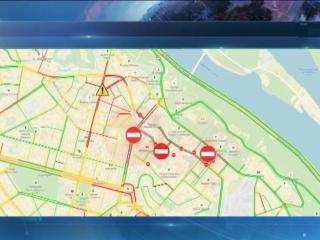 Увага! Обмеження руху транспорту. Плануйте сво маршрути заздалегдь!