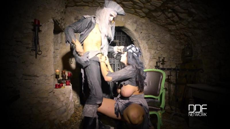 Alison Tyler Dark Pirates Nest ( HD 720, nipples, pussy licking, big ass, big dick, big tits, zombie parody,