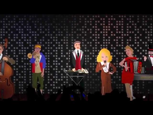 Manouche feat Alenka Godec Stisn se k men OFFICIAL VIDEO