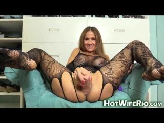 Hot wife rio - lingerie milf tease #2  [2016,hd 1080p]