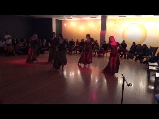 AWALIM, Oriental Dance Group, Studio Shayala - Amir Sofi, Gawharet El Fan drum solo