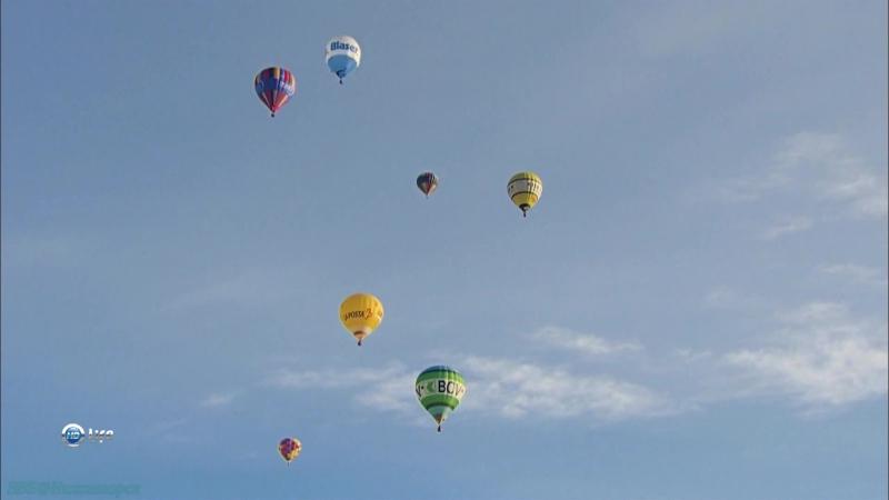 Вокруг света на воздушном шаре Альпы Документальный путешествие 2012