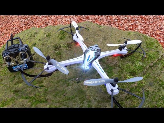 Revell FORMULA Q Großer Action RC Quadrocopter Testbericht Testflug