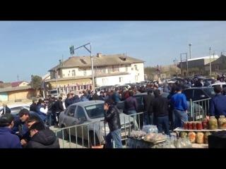 Дагестан. В Манасе проходит собрание дальнобойщиков