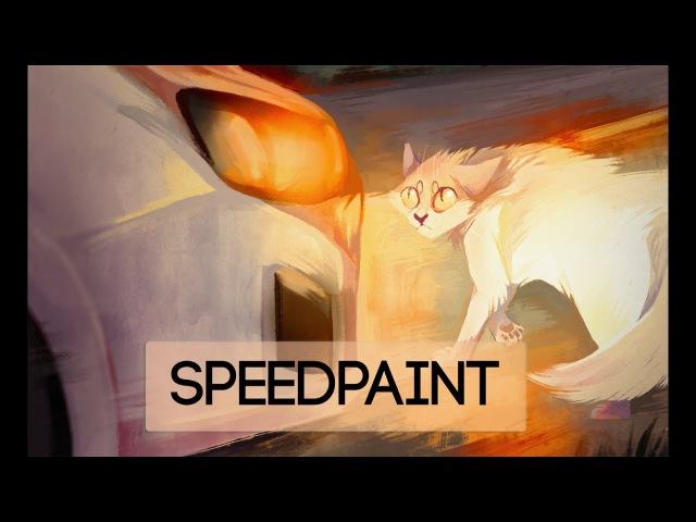 Speedpaint | warrior cats | a second before snowfur