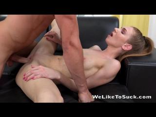 ДрочиЛенд # Жестко оттрахал малышку Melissa Benz cock sucking exercise #porno #sex hardcore russian Blowjob