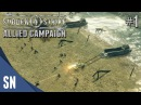 Battle 1: Operation Overlord - Sudden Strike 4 - Allied Campaign Gameplay