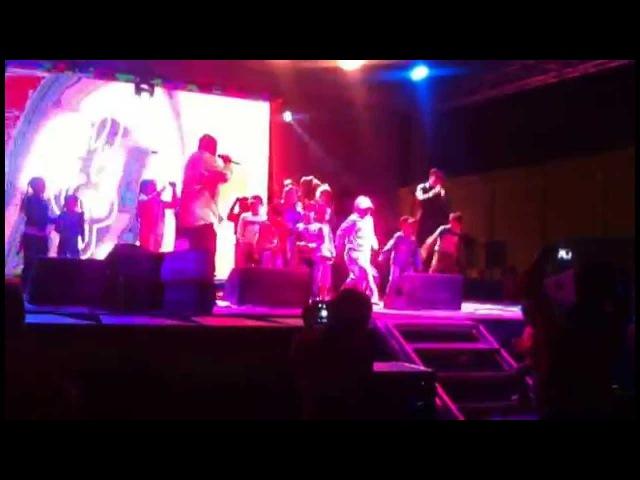 Ержан Кабдуллин и Mr Double A D I love my people Концерт на площади в Кокшетау