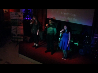 Can't stop the feeling by Dasha, Denis and Anya