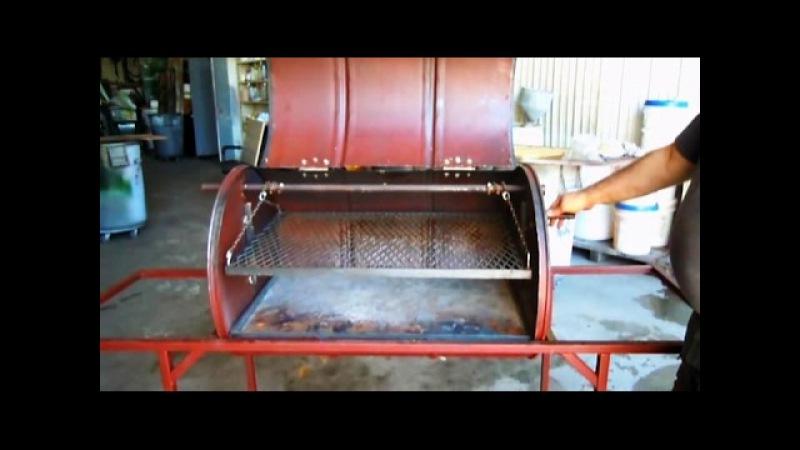 Бизнес идея в гараже Изготовление мангалов и коптилен из железных бочек