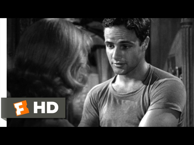 A Streetcar Named Desire (18) Movie CLIP - You Must Be Stanley (1951) HD