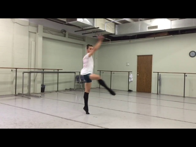 Rehearsal harlequinade (Jorge Barani )