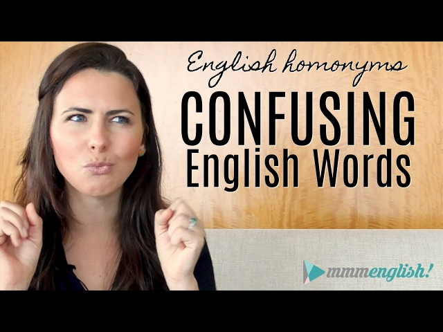 Confusing English Words! | HOMONYMS | Fix Common Vocabulary Mistakes Errors