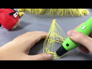 3D ручка (3Д ручка) обзор