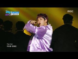 [comeback stage] bts not today, 방탄소년단 낫 투데이 show music core 20170225