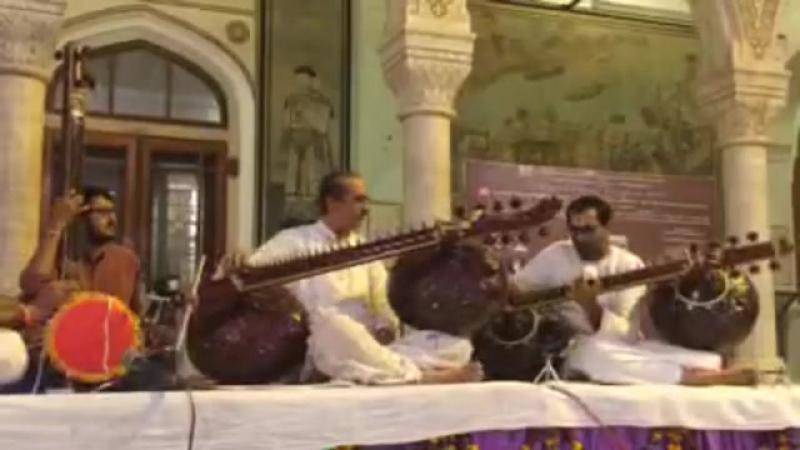 Ustad Bahauddin Dagar Raga Yaman Jhor Jhala