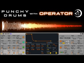 Punchy Drums with Operator