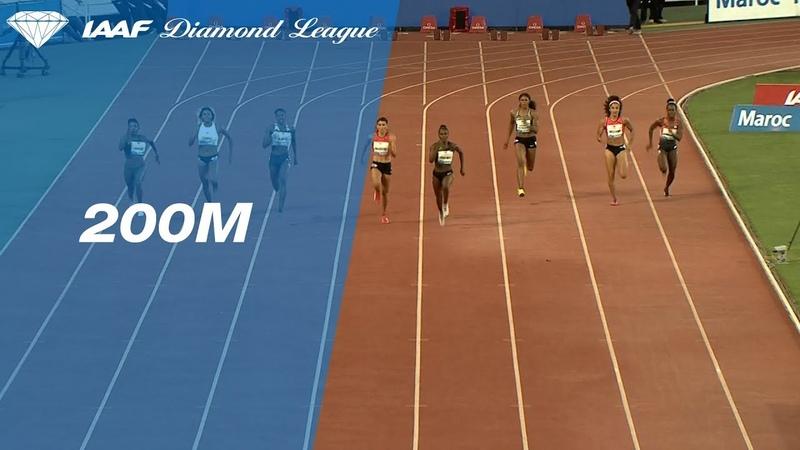 Shaunae Miller Uibo 22.29 Wins Women s 200m IAAF Diamond League Rabat 2018