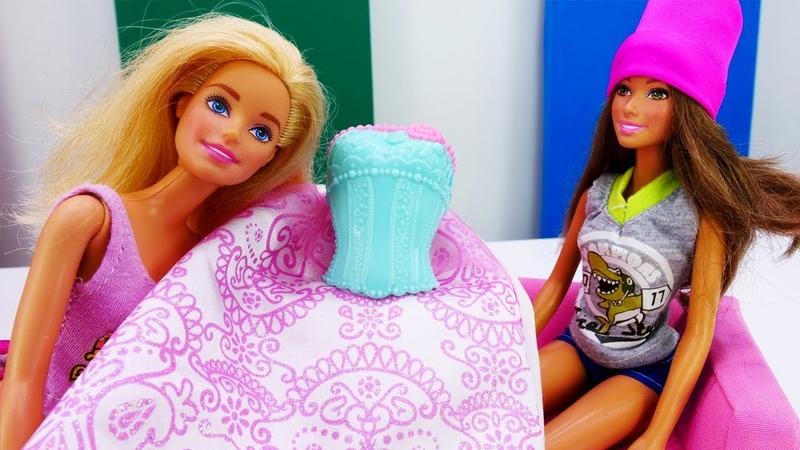 Тереза и Барби готовятся к свадьбе Мультики с куклами