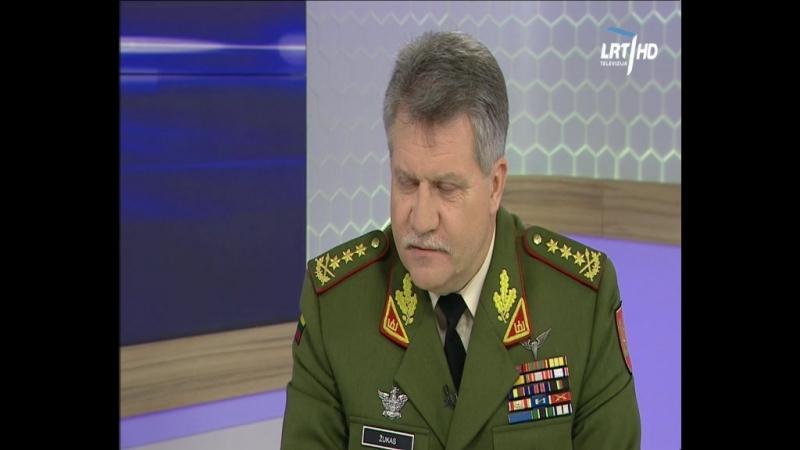 Lietuvos kariuomenės vadas generolas leitenantas J V Žukas nurodo kad JAV praktikuoja desantavimąsi po 12 valandų skrydžio t