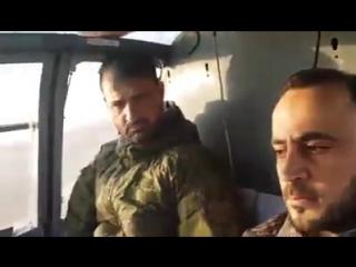 "Бригадир Сухаил Аль-Хасан ""Ан-Нимр"" (Тигр"") и полевой командир Полка ""Таха"" Али Таха"