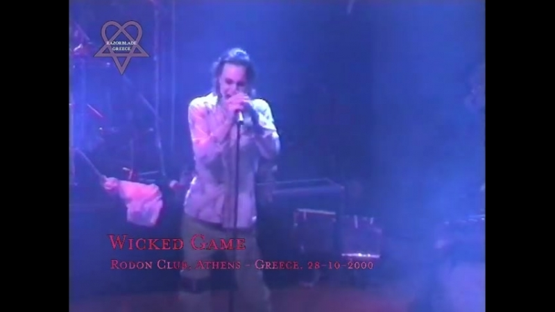 HIM Live @ Rodon Athens Greece 27 28 10 2000 EXCLUSIVE VIDEO