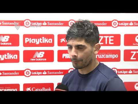 Banega: El equipo mostró orgullo y pudimos empatar, incluso ganar. 14/0/18. Sevilla FC